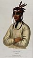Portrait of an Ojibwa chief Wellcome V0047527.jpg