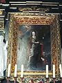 Portret Marii Kazimiery Sobieskiej jako św.Barbary,w bydgoskiej katedrze.JPG
