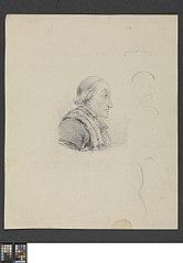 Portret van kanunnik Goethals