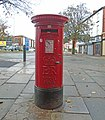 Post box on Borough Road, Seacombe.jpg