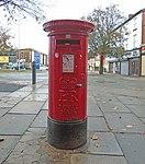 Post box on Borough Road, Seacombe.jpg