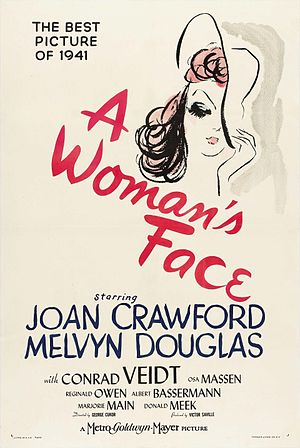 A Woman's Face - Theatrical release poster