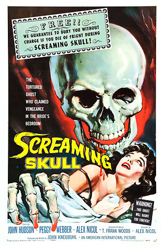 The Screaming Skull - Theatrical release poster by Albert Kallis