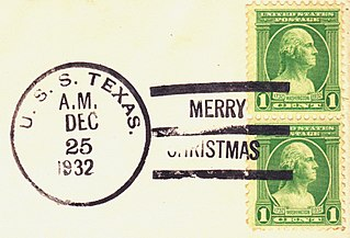 Postmark marking indicating the date and time that a mailed item was delivered into the care of the postal service