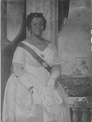 Portrait of Queen Kalama