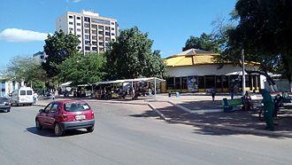 Barreiras - Benedita Silveira Street, Barreiras downtown' s.