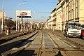 Praha, Holešovice, Výstaviště, rekonstrukce TT, odstraněné panely.jpg