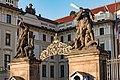 Praha, Hradčany Hradčanské náměstí, Pražský hrad 20170905 008.jpg