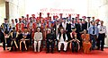 Pranab Mukherjee in a group photograph at the 45th Annual Convocation of Indian Institute of Technology, Kanpur, in Uttar Pradesh on July 05, 2013. The Governor of Uttar Pradesh, Shri B.L. Joshi is also seen.jpg