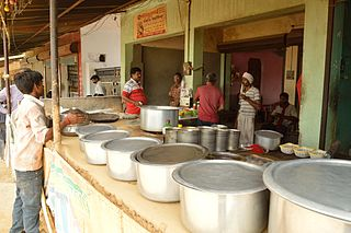 Dhaba Roadside eateries in the Indian subcontinent