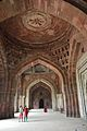 Prayer Hall - Qila-e-Kuhna Masjid - Southward View - Old Fort - New Delhi 2014-05-13 2867.JPG
