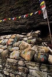 Prayer stones Nepal