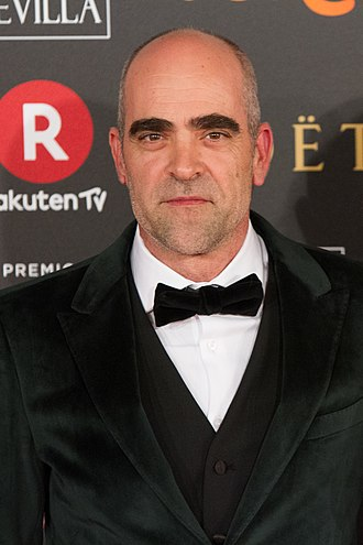 Luis Tosar - Tosar at the 32nd Goya Awards in 2018