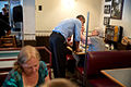 President Barack Obama greets patrons at the Charcoal Pit restaurant in Wilmington, Del., July 17, 2014.jpg