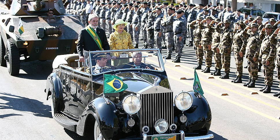 President Lula at Independence Day commemorations (2007)