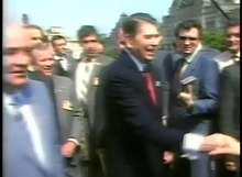 File:President Reagan's Trip to USSR, Walking in Red Square with Mikhail Gorbachev, Moscow, May 31, 1988.webm