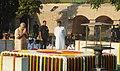 Prime Minister Narendra Modi pays homage to Mahatma Gandhi on Gandhi Jayanthi 2015.jpg