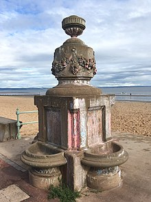 Prince of Wales Fountain, Portobello promenade