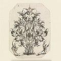Print, Plate 1, from Die Folge der phantastichen Scmucksträße (Suite of Fantastic Ornamental Bouquets), 1614 (CH 18565575).jpg