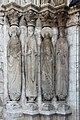 Provins - église Saint-Ayoul - statues-colonnes 01.jpg