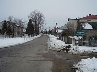 Przygody Village in Masovian, Poland