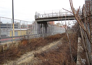 New York and Harlem Railroad - Abandoned Port Morris Branch.