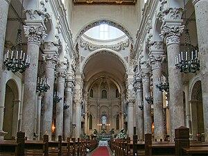 Basilica di Santa Croce (Lecce) - Interior