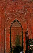 Pulpit of Bagha Mosque