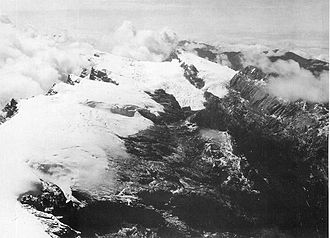 Retreat of glaciers since 1850 - Mount Carstensz icecap 1936 USGS