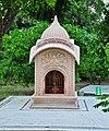 Puspa Samadhi of Srila Gour Govinda Swami Maharaj 07102013.jpg