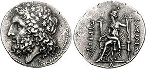 Pyrrhus of Epirus - Pyrrhos, King of Epeiros, 297-72 BC.