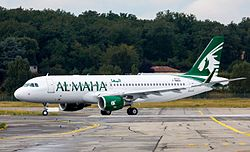 Airbus A320-200 der Al Maha Airways