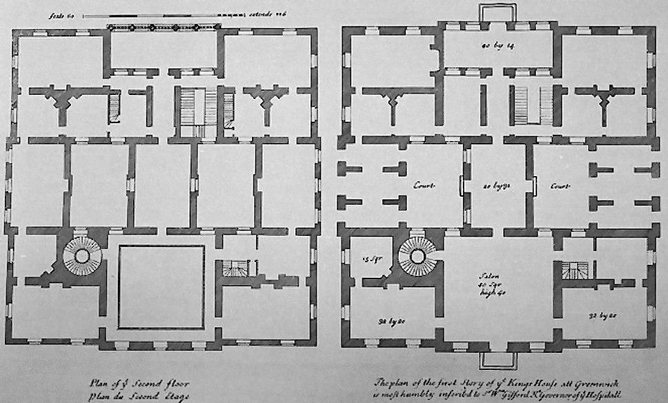 Queen's House plan