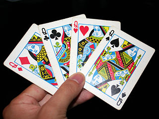 Queen (playing card) playing card