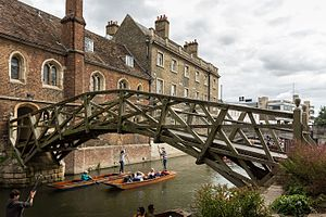 Mathematical Bridge - The current Mathematical Bridge