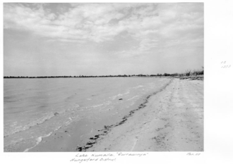 Mulga Lands - Lake Numalla Currawinya Hungerford District January 1955