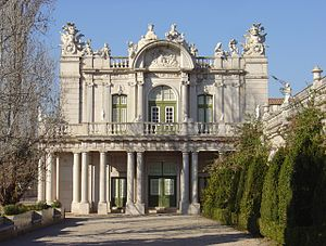 House of the Infantado - The Palace of Queluz was part of the Infantado prior to becoming a royal palace.