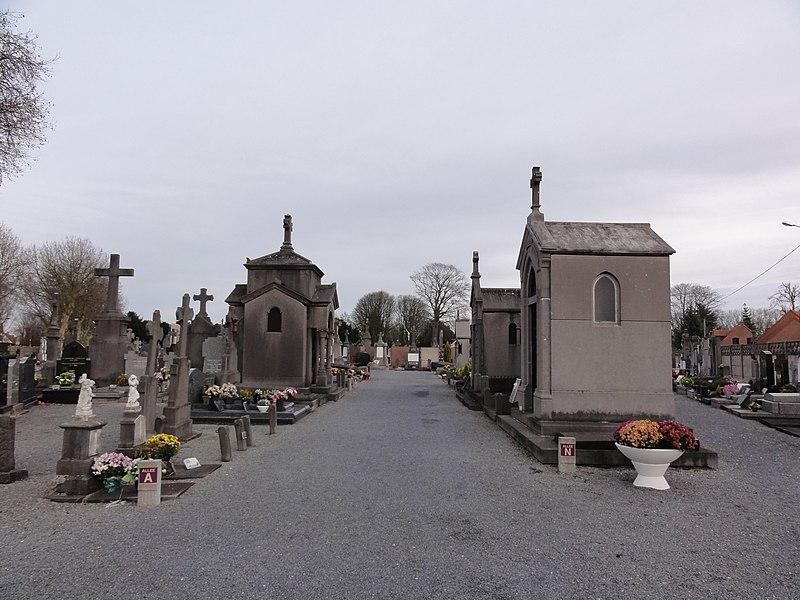 Communal cemetery of Quesnoy-sur-Deûle