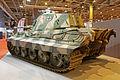 Rétromobile 2015 - Panzer VI Ausf B Tigre II - 1944 - 003.jpg