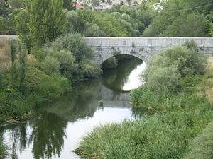 Guadarrama (river) - Río Guadarrama. Community of Madrid, Spain