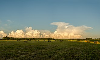 Cumulonimbus cloud - Estonia 11.07.2015