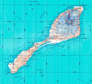 Kapp Wien - Topographic map of Jan Mayen
