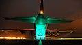 RAF Hercules C130 at Night MOD 45154899.jpg