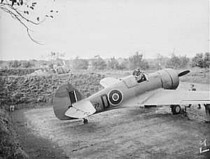 5 Squadron SAAF - Image: RAF Mohawk IV India 2 1943