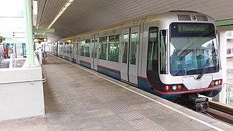 Rotterdam Metro - De Akkers metro station