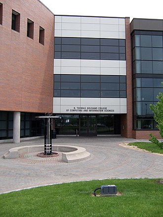 Rochester Institute of Technology - The B. Thomas Golisano College of Computing and Information Sciences building