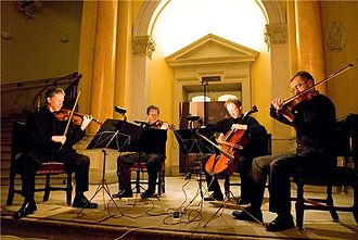 RTÉ Vanbrugh Quartet - Image: RTÉ Vanbrugh Quartet Image