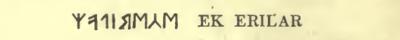 Fig. 3. Fra indskriften på slangebilledet af bén fra Lindholm-mose i Skåne.