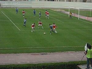 Keshla FK - UEFA Champions League 2008–2009 Qualifying match in Skopje, Macedonia; FK Rabotnicki (Macedonia) – Inter Baku (Azerbaijan) 1–1