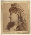 Rachel Booth, from the Actresses series (N246), Type 2, issued by Kinney Brothers to promote Sporting Extra Cigarettes MET DP860056.jpg